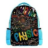KeepCart mochila mochila mochila mochila escolar ocio senderismo escuela de mochilero aprender ligero y lindo al aire libre Matemáticas lineales Matemáticas