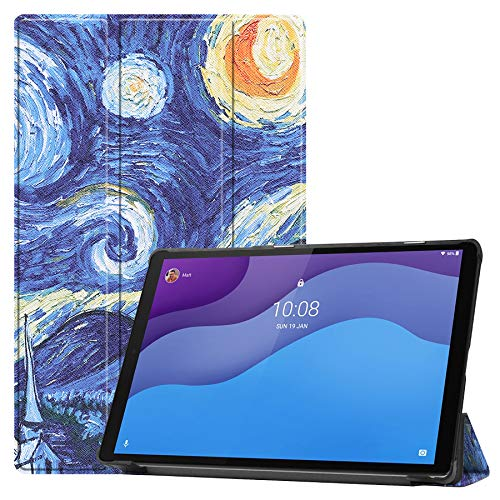"""HYMY Custodia per Tablet Lenovo Tab M10 FHD Plus 10.3"""" - Flip Case Cover with Support Fonction per Lenovo Tab M10 FHD Plus 10.3"""" TB-X606F / TB-X606X -XK"""