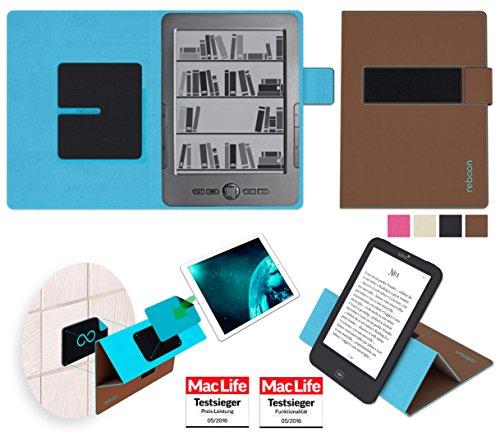 Hülle für Blaupunkt Livro Tasche Cover Hülle Bumper | in Braun | Testsieger