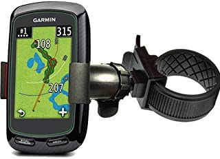 ChargerCity Strap Lock 360°Rotate Golf Trolley Cart Pole Holder Mount for Garmin Approach G6 G7 G8 Golf Buddy Tour Voice W...