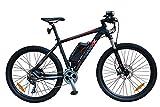 SAXXX Everest Hinterradmotor E-MTB 27,5' 11Ah schwarz/blau 30Gang Shimano Kettenschaltung hydraulische Scheibenbremsen (schwarz/blau)