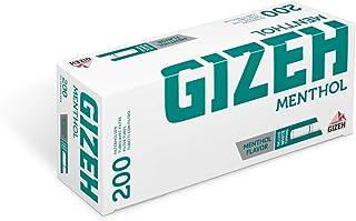Gizeh Mentho Tips – filterhylsor (10 x 200)
