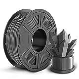 SUNLU PLA 3D Printer Filament, 1.75mm PLA Filament, 2.2LBS (1KG) 3D Printing Filament for 3D Printers 3D Pen, Grey