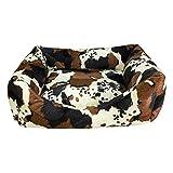 Arquivet Cama para perros Piel de vaca - 70 x 60 x 20 cm