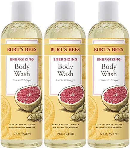 Burt's Bees Citrus & Ginger Body Wash, 12 Oz (Pack of 3)