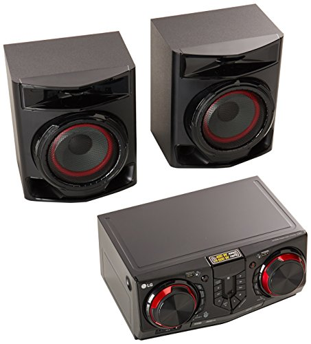 LG CJ44 Minicomponente, 480 Watts RMS, USB, Bluetooth