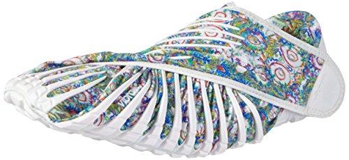 Vibram FiveFingers Furoshiki Original,  Unisex-Erwachsene Sneakers,  Mehrfarbig (White flower), 36/37 EU (Herstellergröße : XS)