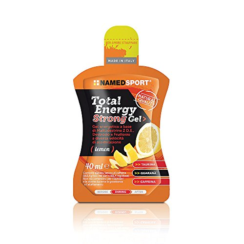 Named Total Energy Strong Gel Confezione da 24 Gusto Limone