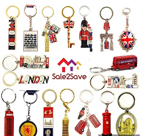 10 x Best Mix of Great British Keyrings London Icons...