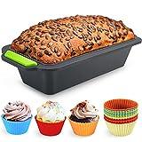 Familybox Moldes para Hornear Pan Antiadherentes 11 en 1 Kit, Moldes de panadería, moldes de Pan...