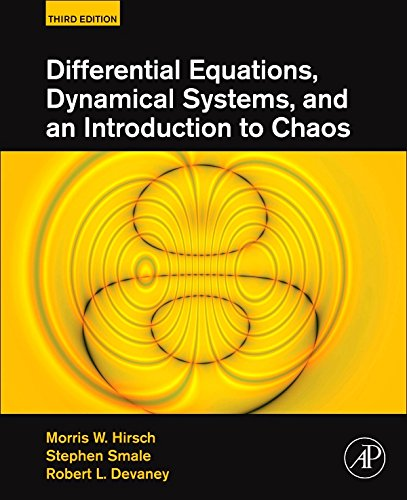 Differential Equations, Dynamical Systems, and an Introduction to Chaos (English Edition)