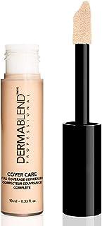 Dermablend Cover Care Concealer, Full Coverage Concealer Makeup and Corrector for Under Eye Dark Circles, Acne & Blemishes, 24-Hr Hydration, Matte Finish, XL Applicator