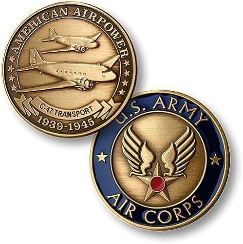orden ahora con gran descuento y entrega gratuita C-47 Army Air Corps Bronze Antique Antique Antique by Northwest Territorial Mint  alta calidad y envío rápido