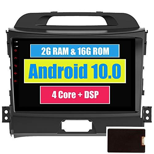 RoverOne Voiture GPS de Navigation pour Kia Sportage R 2010-2016 avec Android Autoradio Radio Stéréo Multimédia Bluetooth DSP MirrorLink