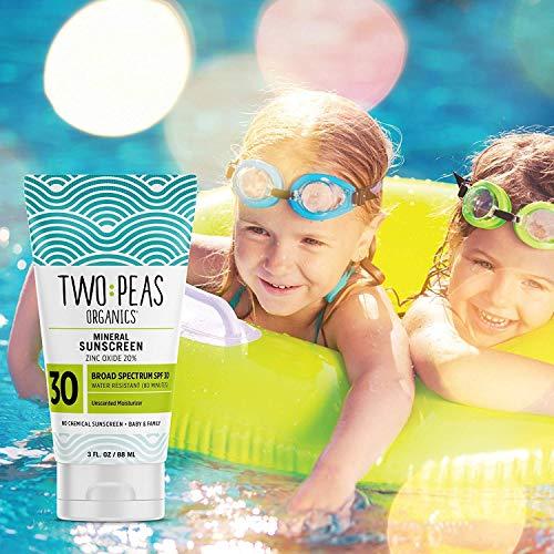 Two Peas Organics SPF 30 Mineral Sunscreen
