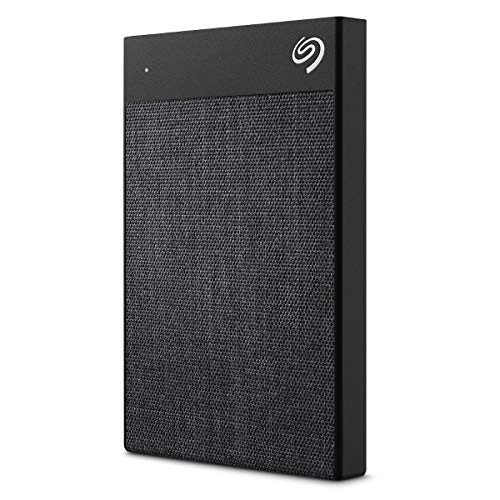 Seagate Backup Plus Ultra Touch, tragbare externe Festplatte 2 TB, 2.5 Zoll, USB 3.0, PC, Notebook & Mac, schwarz, Modellnr.: STHH2000400