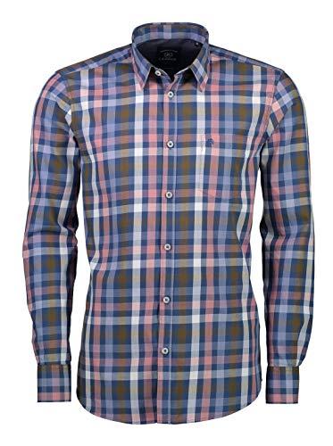 LERROS Herren Hemd Freizeithemd, Pink (Dusty Rose 332), Large
