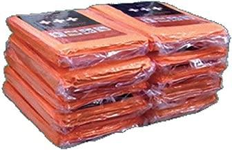 足立織物 非常用圧縮毛布 200X120cm 10枚入 EB-201BOX