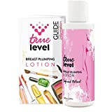 True Level Breast Plumping Lotion Bust Enlargement Enhancement Cream Helps Increase Volume Improve Shape (4 fl oz / 120ml)