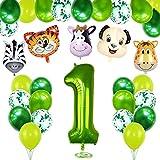 1 Año Selva Fiesta de Cumpleaños Decoracion, 1er...