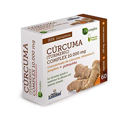 Nature Essential - CURCUMA Complex 10.000mg da 60 capsule vegetali