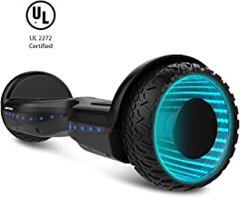 WORMHOLE Off Road Hoverboard Dual Motors Electric Self Balancing Scooter 6.5