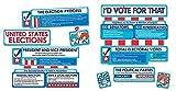 Eureka Mini Bulletin Board Set, Cat in The Hat for President (847636)