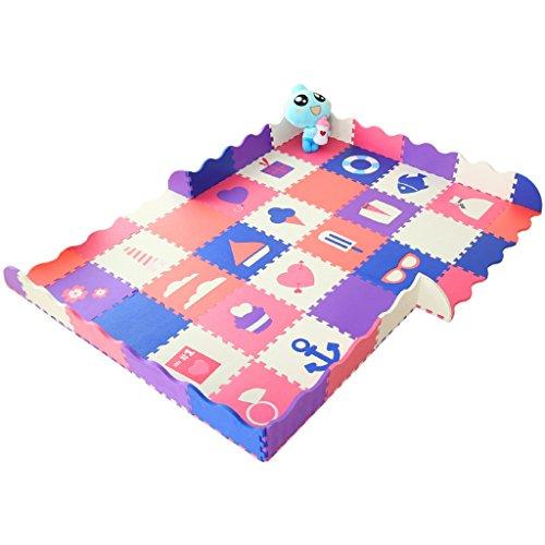 Buy Discount Crawling mat Roscloud Baby Splice Mat Thicken Children Play Fence Foam Protective Floor...