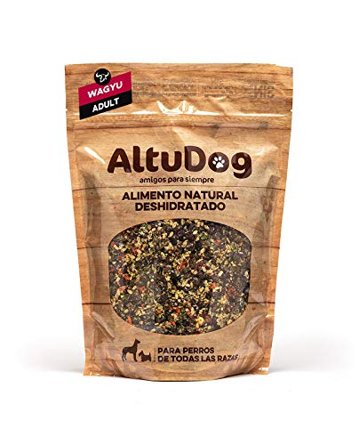 AltuDog Alimento Natural deshidratado para Perros Adultos Wagyu Adult 1Kg - Comida Natural para Perros
