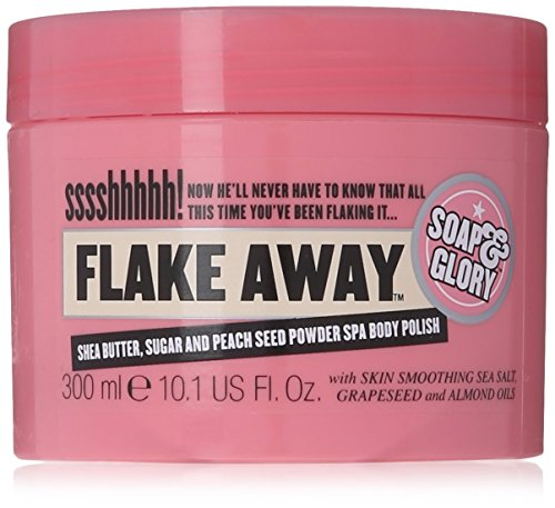 Soap and Glory Flake Away Body Scrub 300ml (Pack Qty 1)