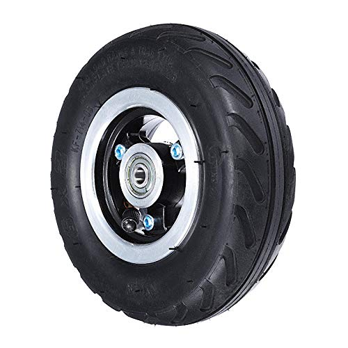 Unbekannt Luftschlauch für Reifen mit 15,2 cm (6 Zoll) Reifen, Legierung, Nabe, 160 mm Luftreifen, Scooter, 6 x 2