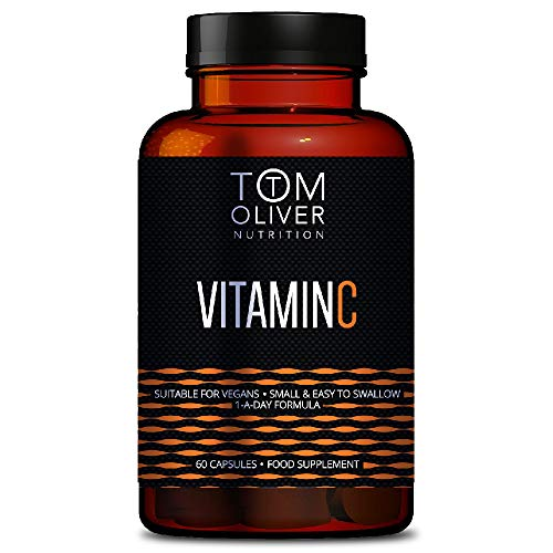 Tom Oliver Nutrition - Vitamin C (Capsules) - Suitable for Vegans - One a Day Formula (1)