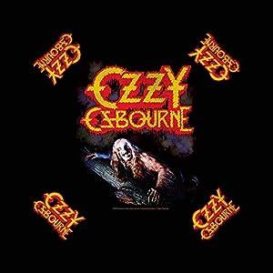 Ozzy Osbourne Bark At The Moon Bandana Apparel Metal Head Band Art Head Kerchief