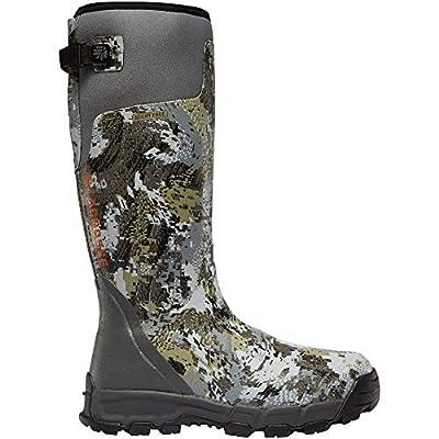 "LaCrosse Men's 376035 Alphaburly Pro 18"" 800G Waterproof Hunting Boot, Optifade Elevated II - 11 M"