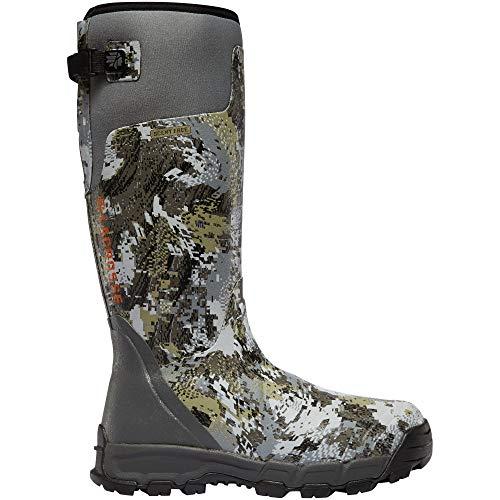 "Lacrosse mens Alphaburly Pro 18"" 800g Hunting Shoes, Optimal Elevated Ii, 11 US"