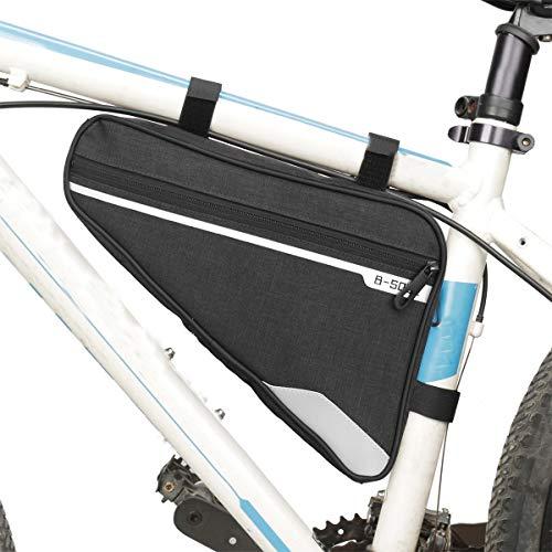 Zeroall Bike Frame Bag Waterproo...