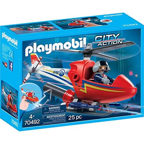 Playmobil 70492 - Feuerwehrhubschrauber