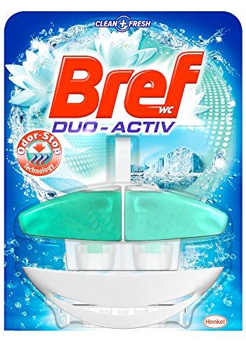 Bref Duo Activo Odor Stop Colgador WC - 50 ml