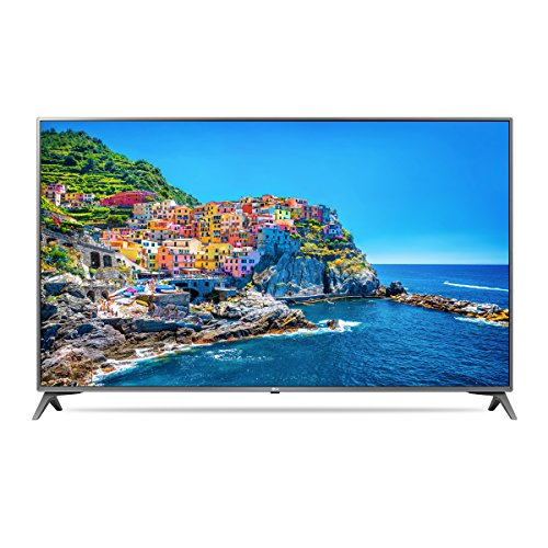LG 49UJ6500.AWM Smart TV 49', Ultra HD, Slim Design, Active HDR, Wide Color, 4K Upscaler, 20W Hi-Fi Audio, Clear Voice III