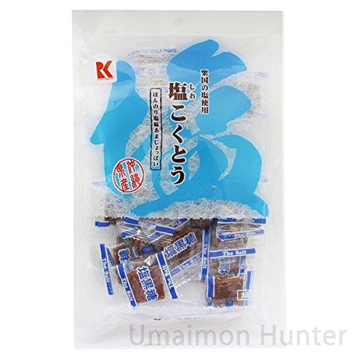 塩こくとう130gx30袋 琉球黒糖 黒糖のコクと塩の意外な組み合わせが相性ピッタリ 黒糖菓子 粟国の塩使用 沖縄土産に