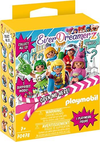 PLAYMOBIL 70478 EverDreamerz Caja Sorpresa con Figura de Comic World,  A Partir de 7 Años