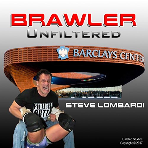 Brawler Unfiltered audiobook cover art