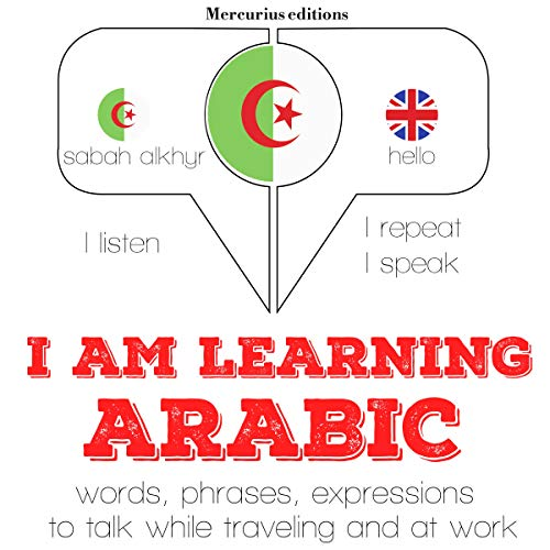 I am learning Arabic audiobook cover art