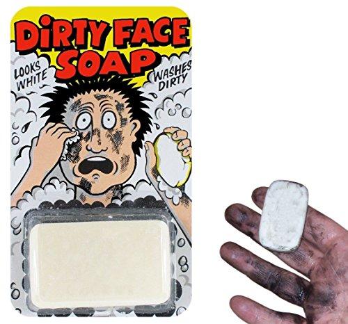 Funnyman Jokes Dirty Black Face Soap Traditional Novelty Jokes Gags Tricks...