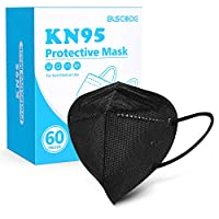 The 3D design that fits the shape of the human face, the soft and flexible ear hooks, and the adjustable metal nose clip, bring you a more comfortable protection experience. 5-Layer Filter, Filter Efficiency≥95%: Breathable KN95 face masks are made o...
