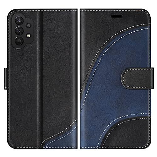 BoxTii Funda para Galaxy A32 5G, Funda de PU Cuero para Samsung Galaxy A32 5G, Magnético Carcasa...