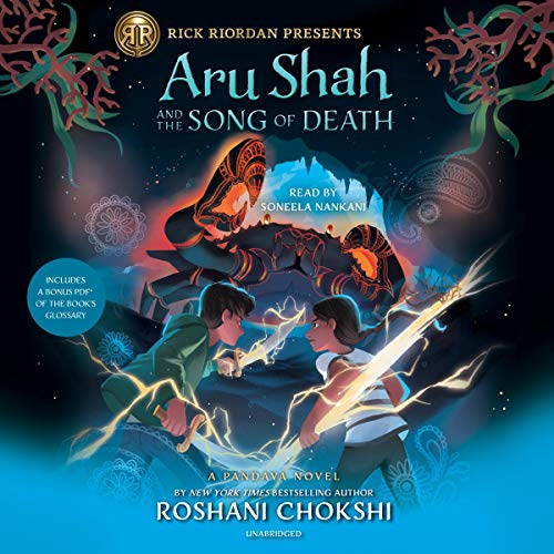 Aru Shah and the Song of Death audiobook cover art