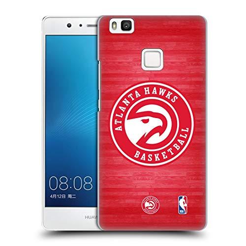 Head Case Designs Oficial NBA Corte de Gran tamaño Atlanta Hawks 3 Carcasa rígida Compatible con Huawei P9 Lite / G9 Lite