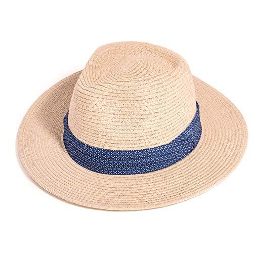 Fenside land kleding mannen stro Fedora Panama zon hoed met patroon band
