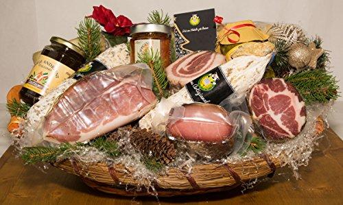 Cesti Natalizi il Natale in Toscana 1 - Salumificio Artigianale Gombitelli - Cesti Natalizi Collezione 2019